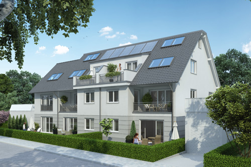 Neubauprojekt München-Untermenzing