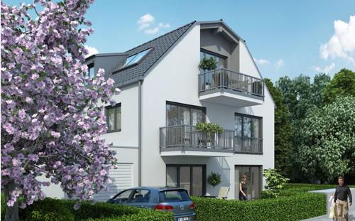 Neubauprojekt Kirchtrudering